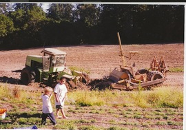 Graydon and Gerardo on Mariquita Home Farm in 1999.